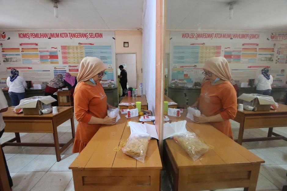 KPU Tangsel Siapkan 1.001.874 Surat Suara untuk Pilkada 2020-4