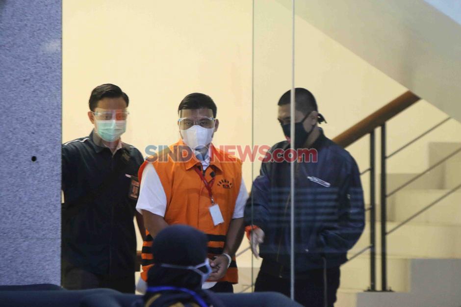 Andreau Pribadi Misata Stafsus Edhy Prabowo dan Bos ACK Amiril Mukminin Menyerahkan Diri ke KPK-1