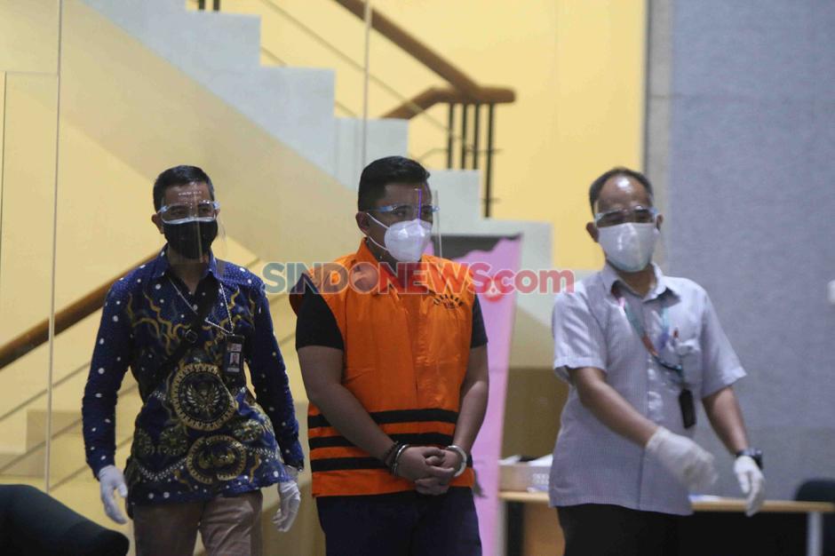 Andreau Pribadi Misata Stafsus Edhy Prabowo dan Bos ACK Amiril Mukminin Menyerahkan Diri ke KPK-2