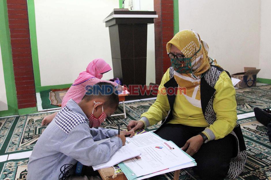 Mengaji Tatap Muka Terapkan Protokol Kesehatan di Pondok Cabe-1