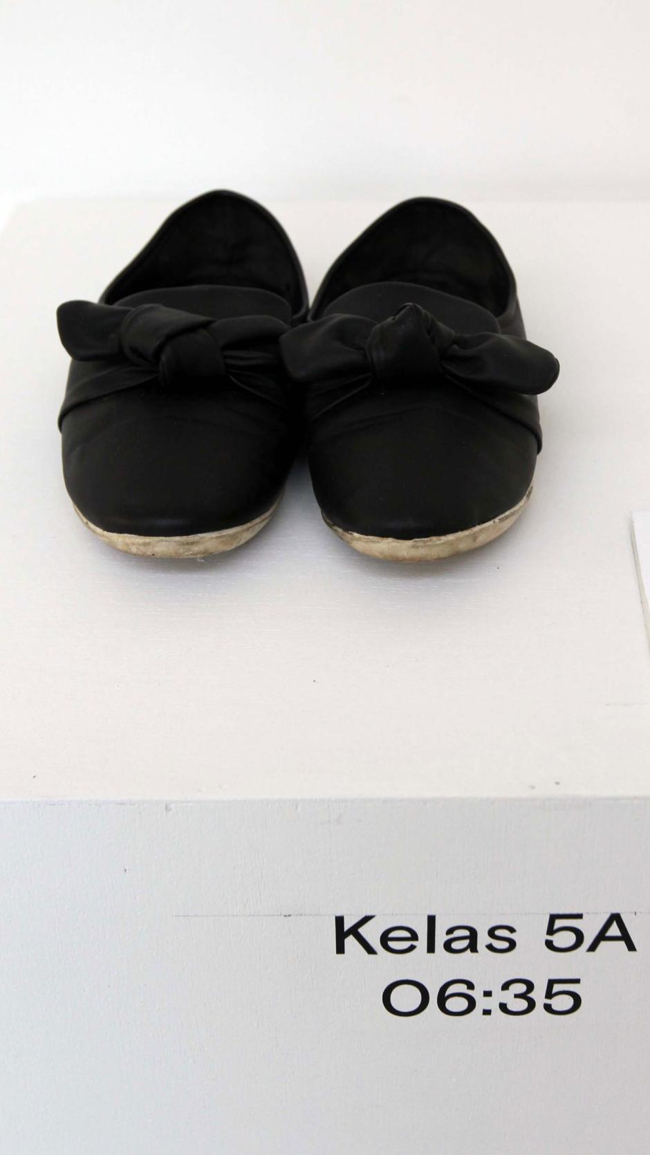 Berbagi Cerita Penyintas Kekerasan Seksual dalam Shoes Art Installation-4