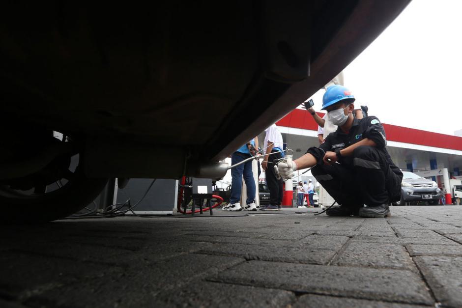 Pertamina Lakukan Uji Emisi Gas Buang Kendaraan dengan BBM Berkualitas-3
