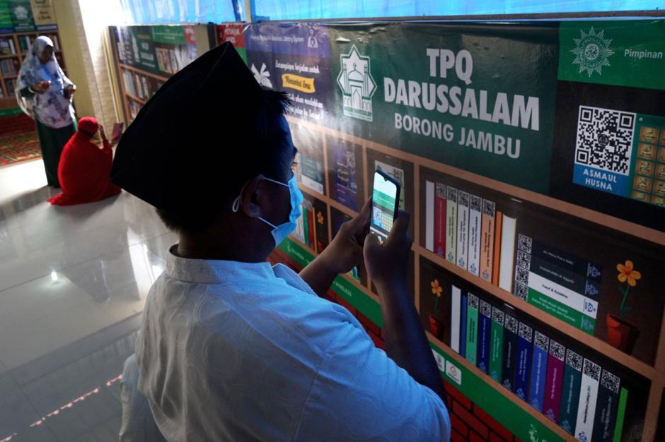 Menyambangi Perpustakaan Digital di Masjid Darussalam Muhammadiyah Makassar-0