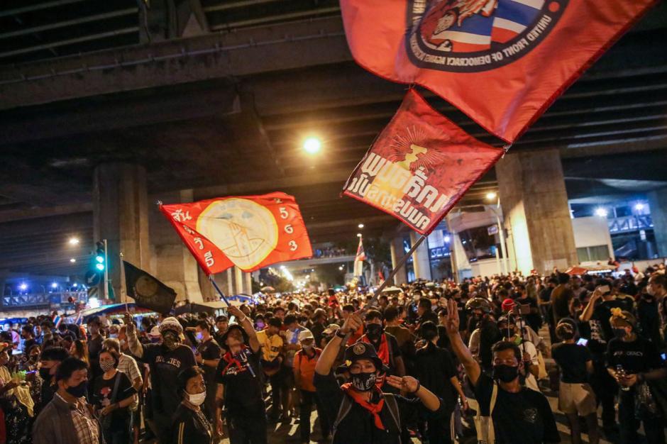 Desak PM Prayuth Mundur, Aksi Unjuk Rasa di Thailand Terus Berlanjut-1