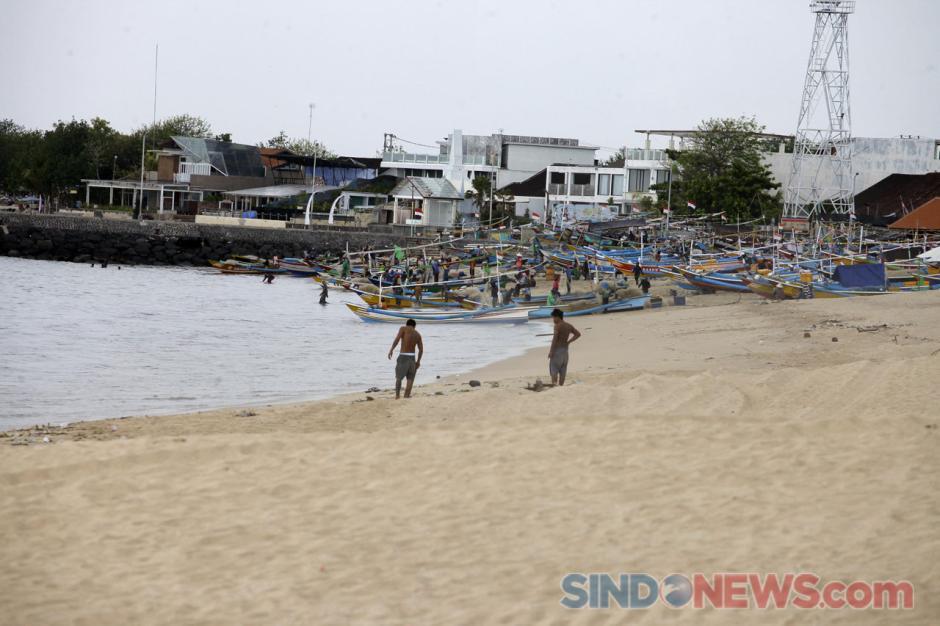 Begini Penampakan Pantai Jimbaran di Kala Sepi Akibat Pandemi-3