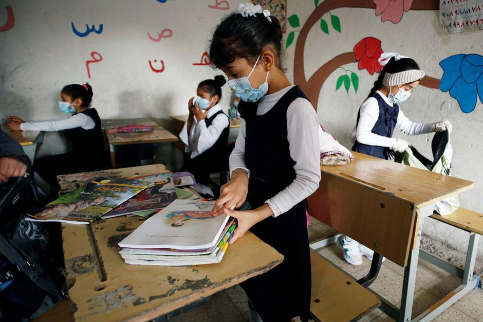 Berbulan-bulan Tutup, Sekolah di Iraq Kembali Dibuka-2