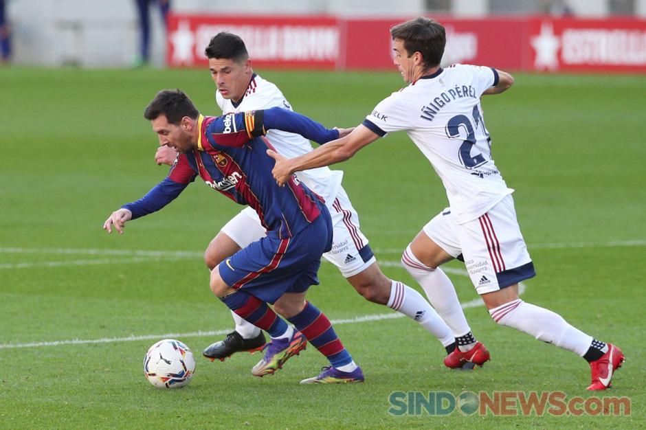 Sikat Osasuna 4-0 di Camp Nou, Barcelona Merangsek ke Urutan 7 Klasemen Sementara-2