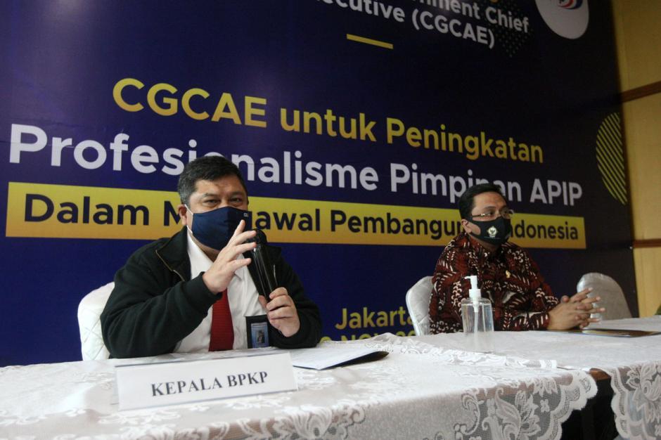 Tingkatkan Kapabilitas dan Kompetensi Pimpinan APIP, BPKP Selenggarakan Sertifikasi CGCAE-0