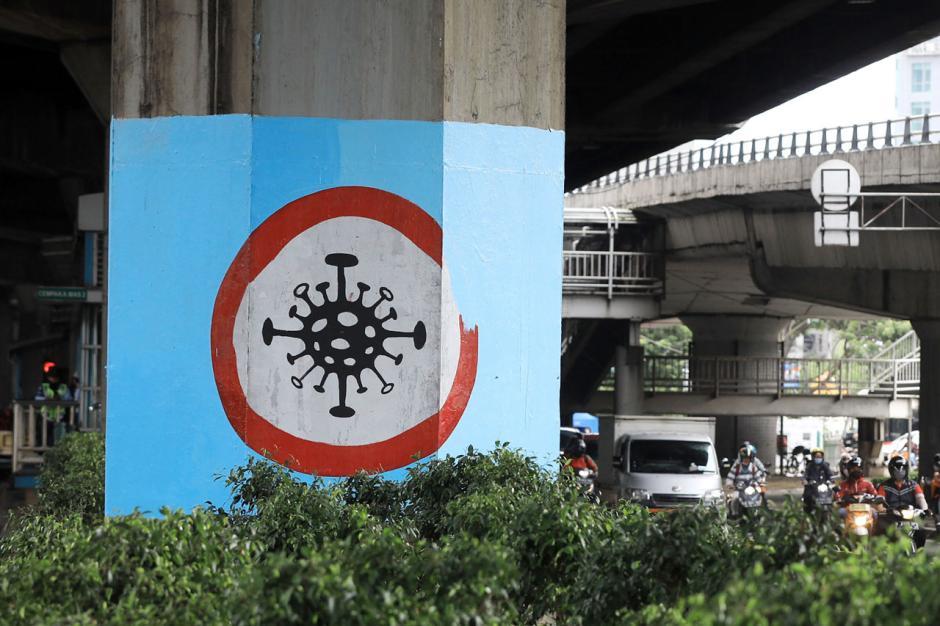 100 Tiang Jalan Tol di DKI Akan Dihiasi dengan Mural Covid-19-2