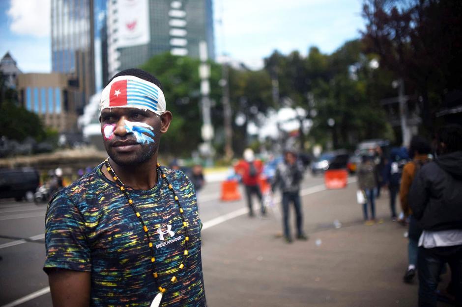 Mahasiswa Papua Gelar Aksi Tolak Perpanjangan Otonomi Khusus-2