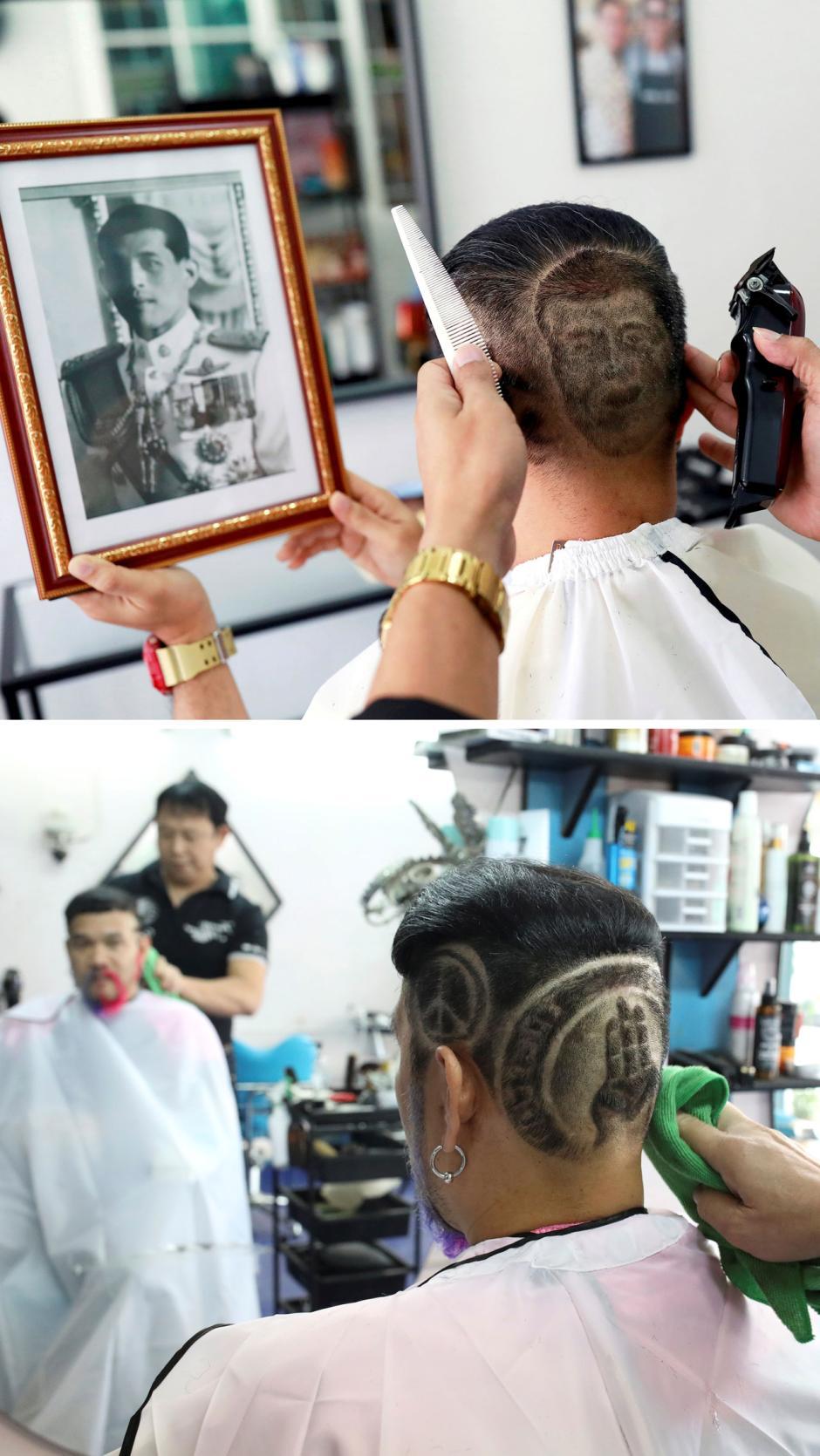 Begini Gaya Rambut Mantan Pendukung Raja Thailand yang Kini Berubah Jadi Anti Pemerintah-1