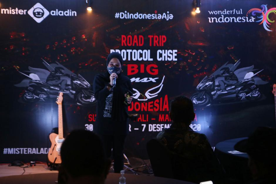 Peserta Mister Aladin Road Trip Protokol CHSE Big Max Indonesia Ikuti Gala Dinner-3