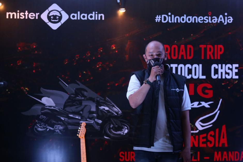 Peserta Mister Aladin Road Trip Protokol CHSE Big Max Indonesia Ikuti Gala Dinner-1