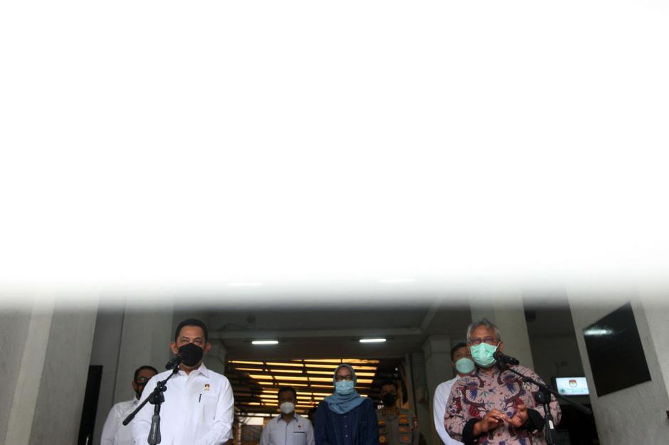 Bahas Pengamanan Pilkada Serentak, Kabareskrim Polri Temui Ketua KPU-5