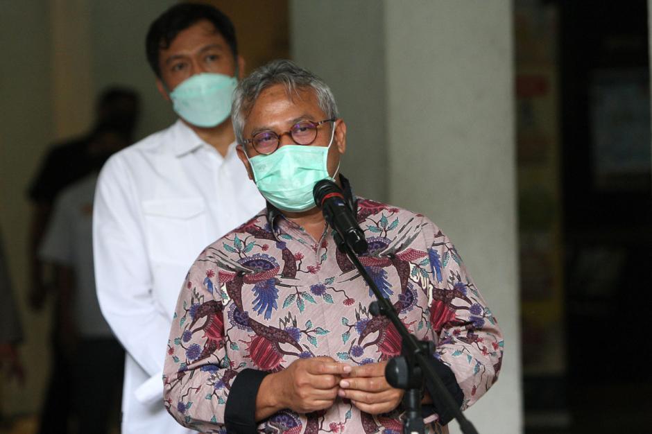 Bahas Pengamanan Pilkada Serentak, Kabareskrim Polri Temui Ketua KPU-1