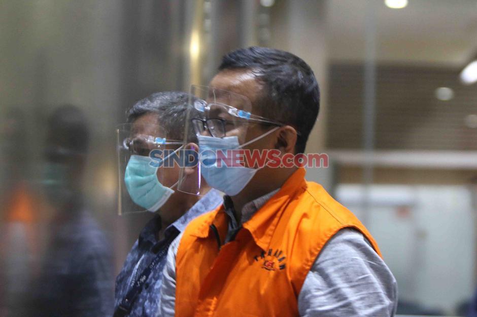 Mantan Menteri KKP Edhy Prabowo Jalani Pemeriksaan di Gedung KPK-1