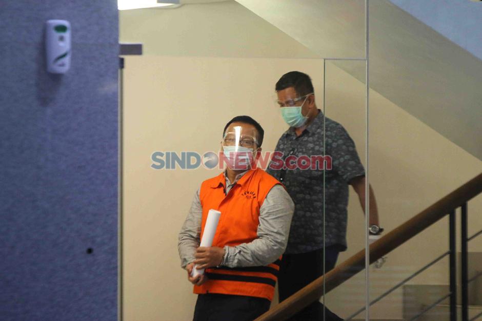 Mantan Menteri KKP Edhy Prabowo Jalani Pemeriksaan di Gedung KPK-0