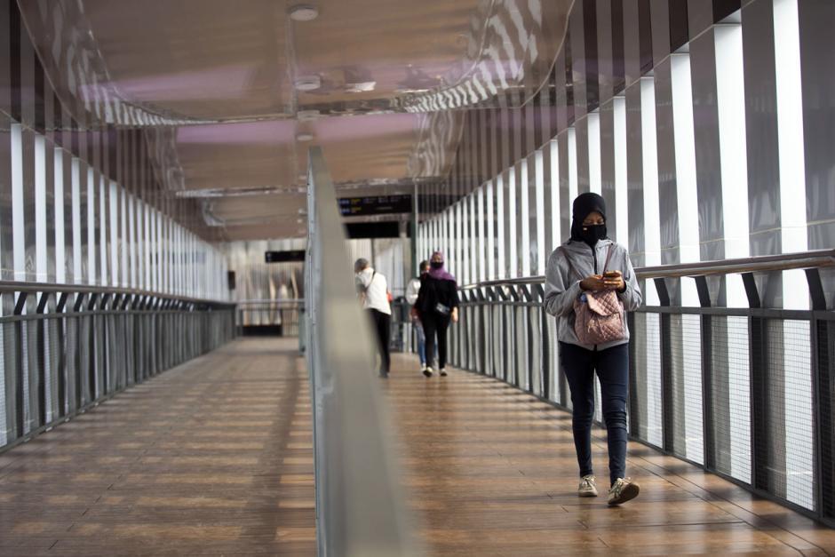Berkonsep Artistik, JPO Senen Extension Beri Kenyamanan Pejalan Kaki-0
