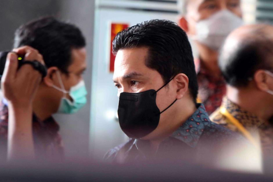 Erick Thohir Tandatangani Kerja Sama Pemberantasan Korupsi dengan KPK-1