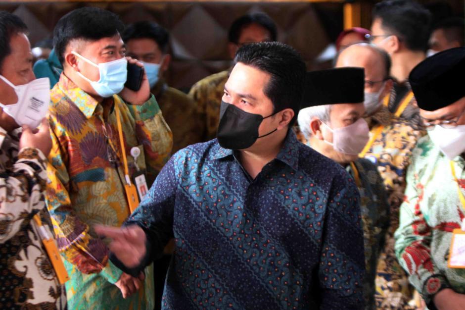 Erick Thohir Tandatangani Kerja Sama Pemberantasan Korupsi dengan KPK-0