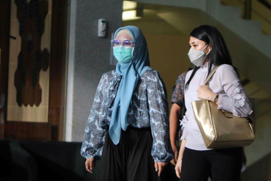 KPK Periksa Istri Eks Menteri Kelautan dan Perikanan Edhy Prabowo-4