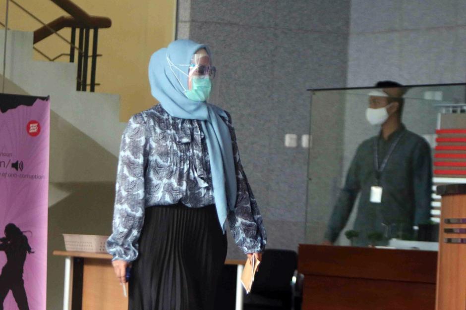 KPK Periksa Istri Eks Menteri Kelautan dan Perikanan Edhy Prabowo-3