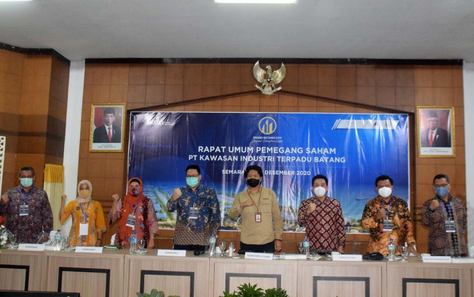 PT Kawasan Industri Terpadu Batang Gelar RUPS Perdana-2