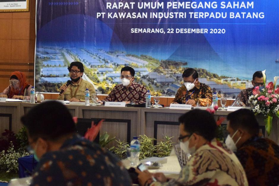 PT Kawasan Industri Terpadu Batang Gelar RUPS Perdana-3