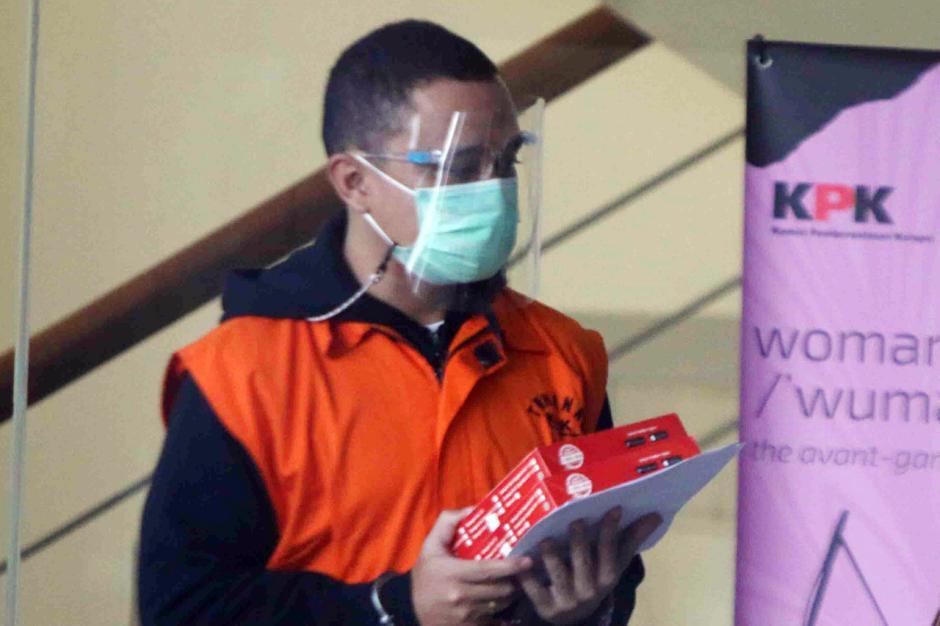 Korupsi Bansos Covid-19, Hary Sidabukke Jalani Pemeriksaan Lanjutan di KPK-1