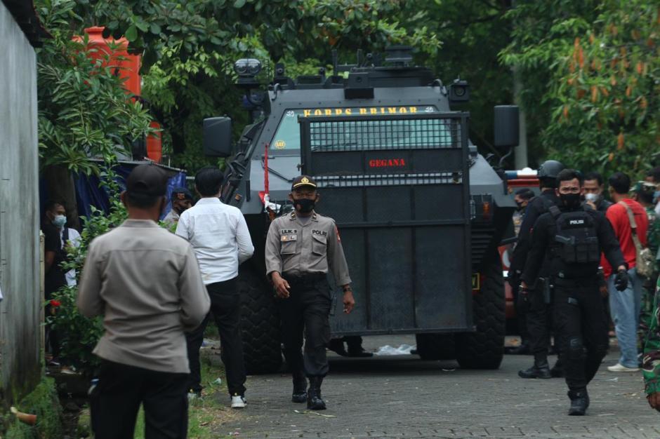 Melawan Saat Ditangkap, Densus 88 Tembak Mati Dua Terduga Teroris JAD di Makassar-1