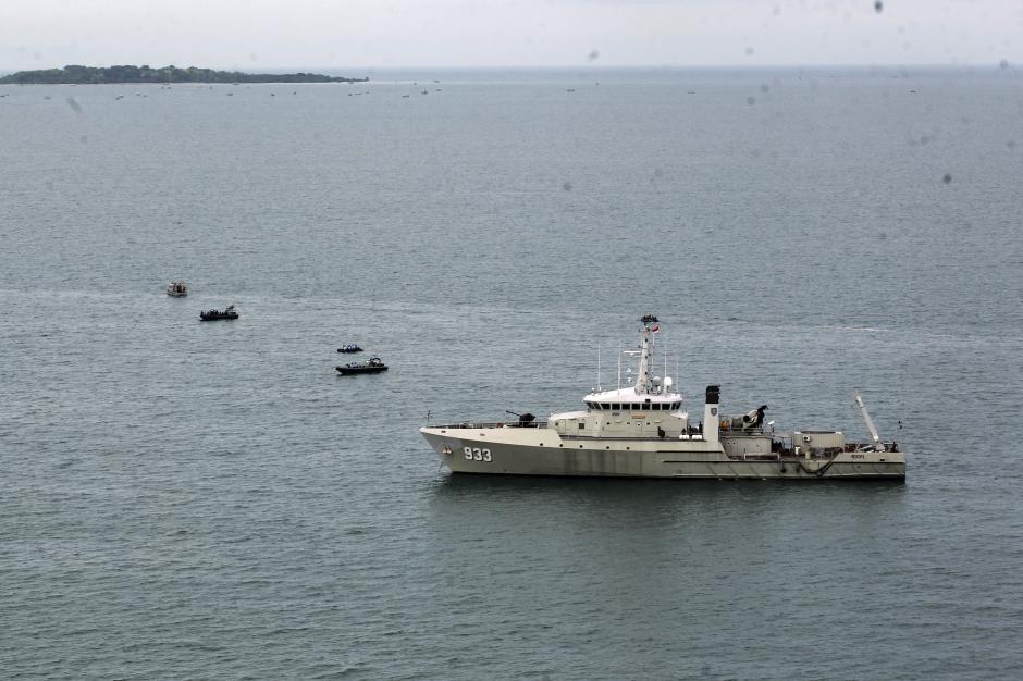 TNI AU Temukan Tumpahan Minyak yang Diduga Berasal dari Pesawat Sriwijaya SJ182-8