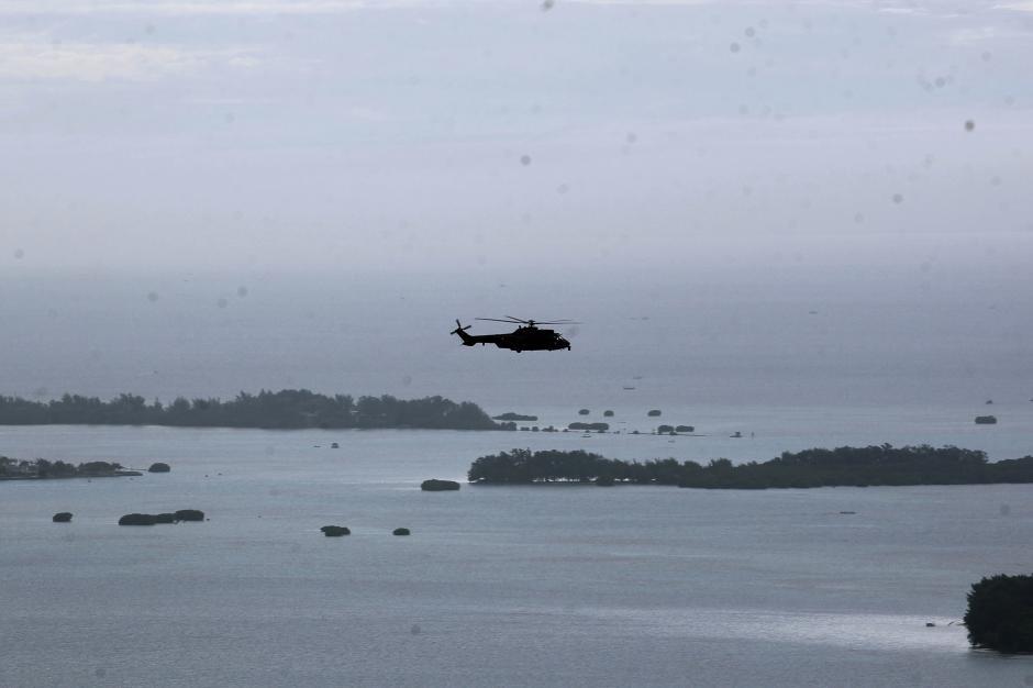 Cari Pesawat Sriwijaya Air SJ182, Helikopter Caracal TNI AU Sisir Perairan Kepulauan Seribu-4