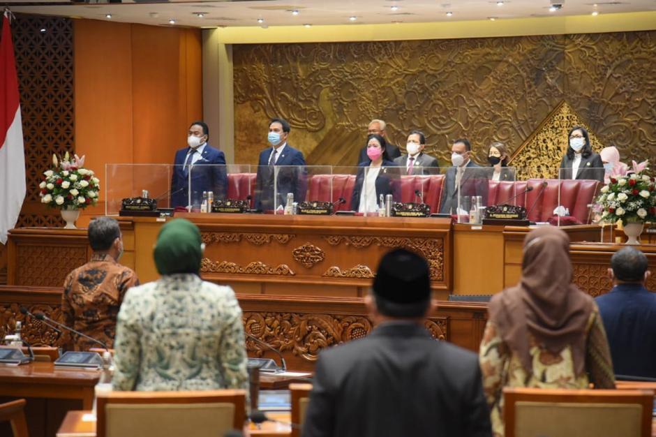 DPR Gelar Rapat Paripurna Pembukaan Masa Sidang III Tahun 2020-2021-1