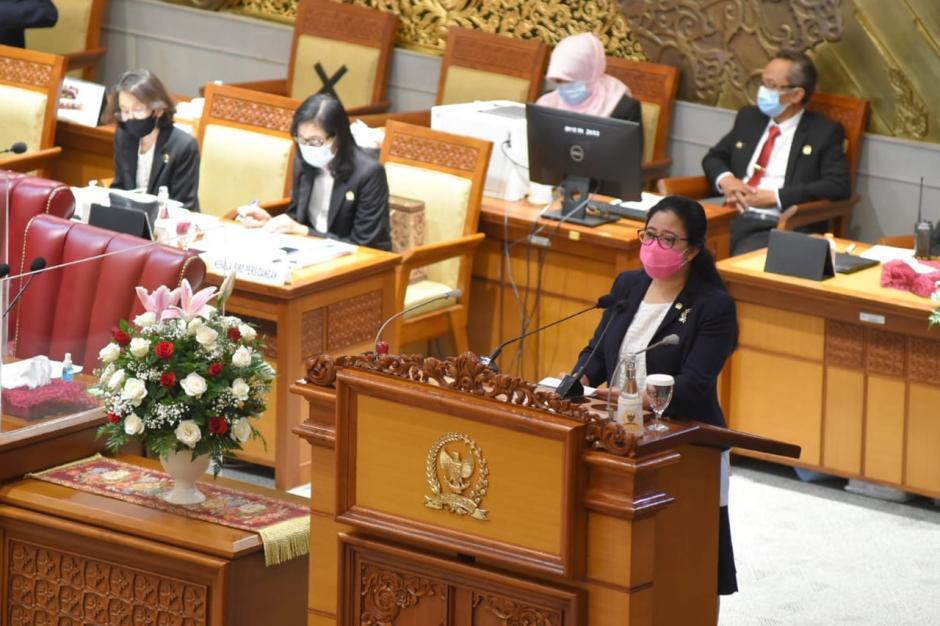 DPR Gelar Rapat Paripurna Pembukaan Masa Sidang III Tahun 2020-2021-0