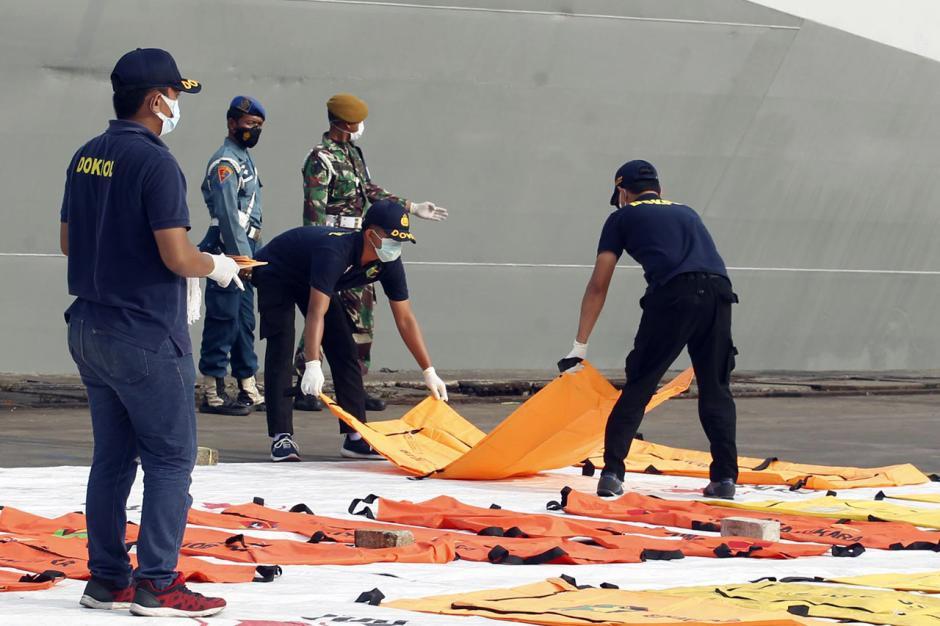 Hari Ini Basarnas Temukan Lebih Banyak Lagi Jenazah Korban Sriwijaya Air SJ182-4