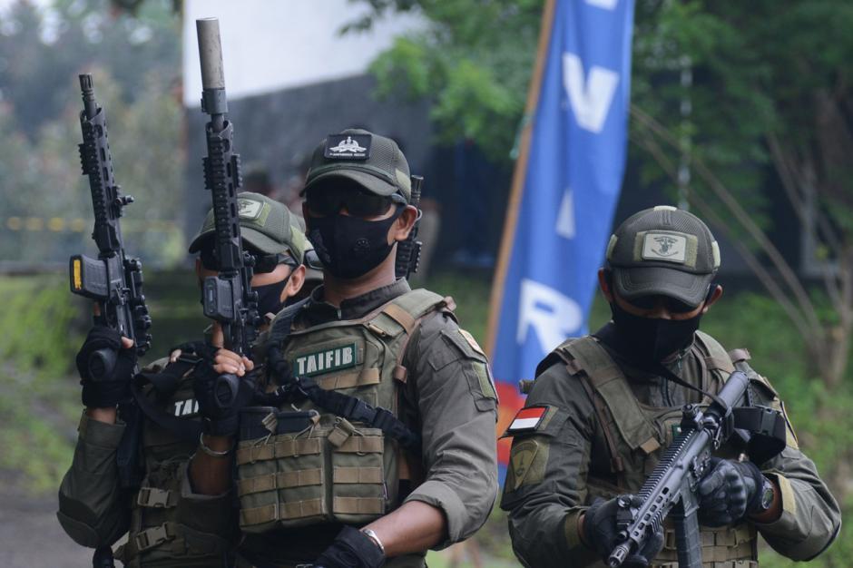 Prajurit Taifib 2 Marinir Terus Tingkatkan Kemampuan Menembak Tempur Reaksi-5
