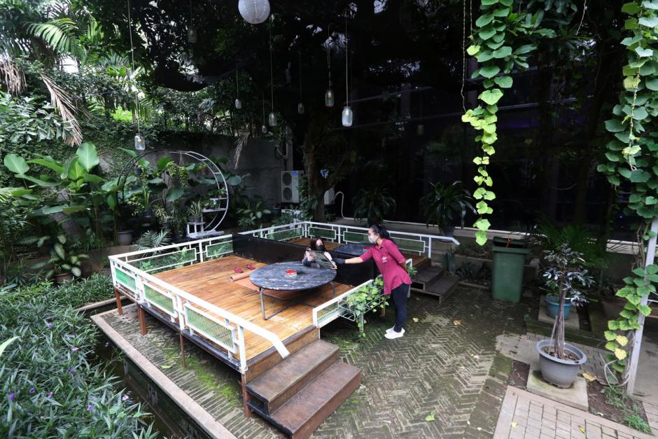 Cafe dan Resto Berkonsep Outdoor Jadi Pilihan di Masa PPKM-0