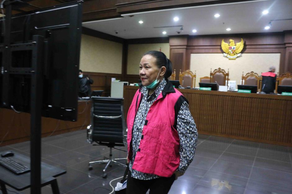 Pembobol BNI Maria Pauline Lumowa Jalani Sidang Perdana-3