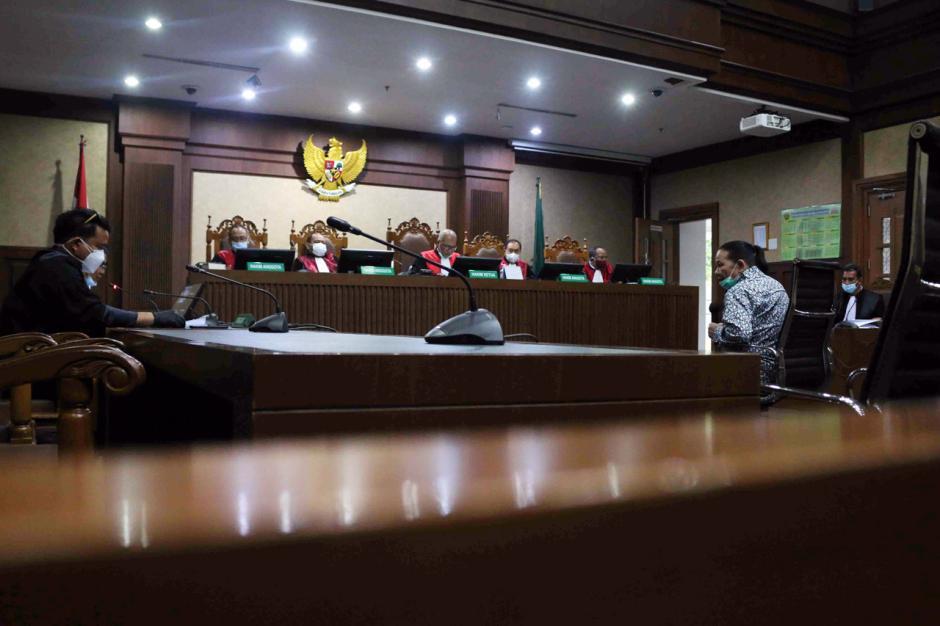 Pembobol BNI Maria Pauline Lumowa Jalani Sidang Perdana-5