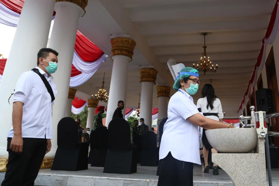 Pemprov Jawa Timur Gelar Simulasi Vaksinasi Covid-19-4