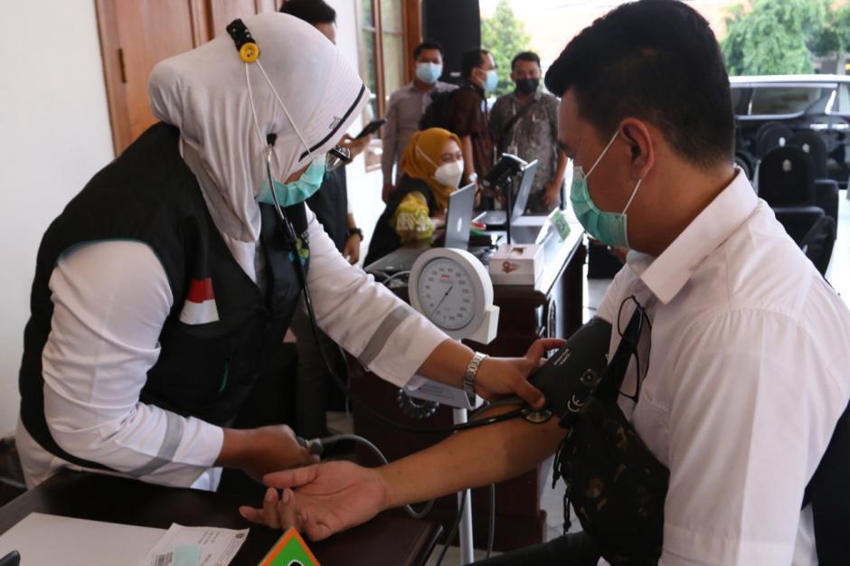 Pemprov Jawa Timur Gelar Simulasi Vaksinasi Covid-19-1