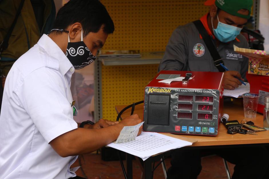DLH DKI Jakarta Gelar Uji Emisi Gratis-1