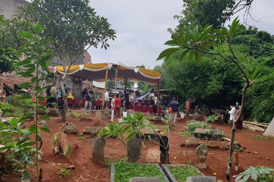 Begini Persiapan Pemakaman Jenazah Pramugara Sriwijaya AirSJ182 Okky Bisma-4