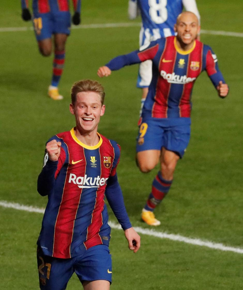 Menangkan Drama Adu Pinalti, Barcelona Lolos ke Final Piala Super Spanyol-1