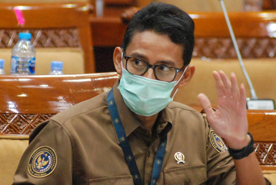 Bahas Program Unggulan, Menparekraf Sandiaga Uno Rapat Perdana dengan DPR RI-1
