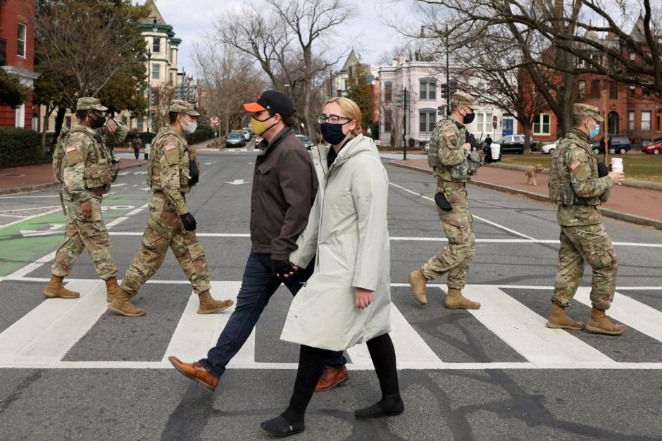 Gedung Capitol AS Dijaga Ketat Jelang Pelantikan Joe Biden-4