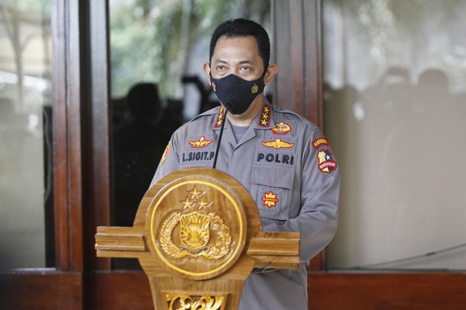 Calon Kapolri Komjen Pol Listyo Sigit Prabowo Beri Keterangan Pers Usai Mengikuti Fit and Proper Test-0