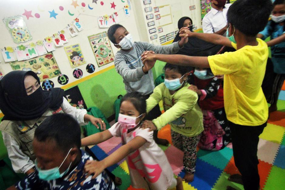 Anak-anak Korban Gempa Majene Ikuti Program Trauma Healing-5