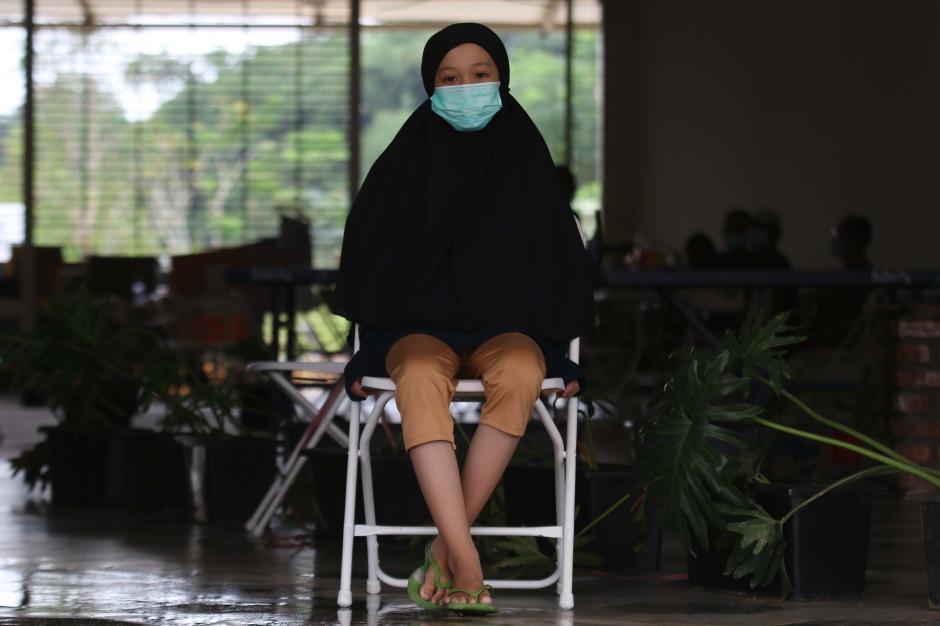Ketegaran Aisyah Alissa, Gadis Mualaf yang Ibunya Meninggal Akibat Covid-19 Kini Hidup Sebatang Kara-2