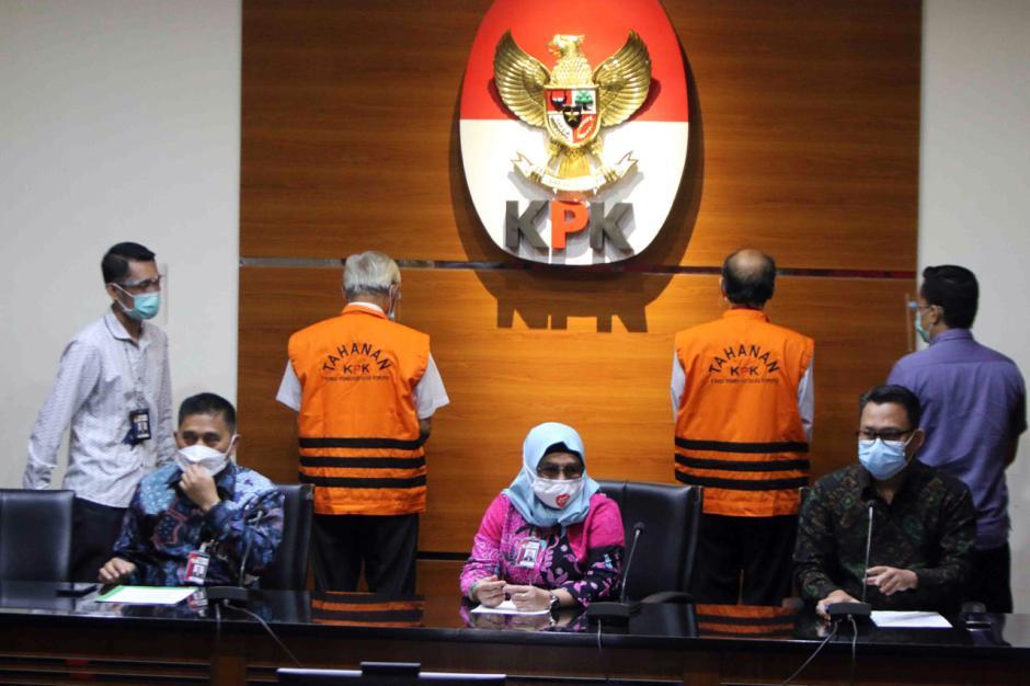 KPK Tetapkan Priyadi Kardono dan Muhamad Muchlis Tersangka Korupsi Pengadaan Citra Satelit Resolusi Tinggi-2